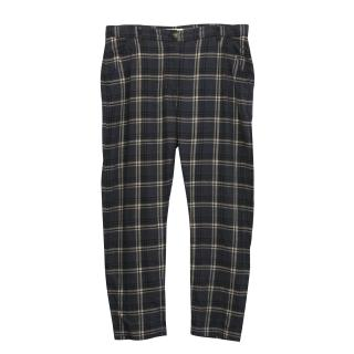 Isabel Marant Etoile Grey Plaid Trousers