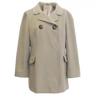 Cream Wool Jacket