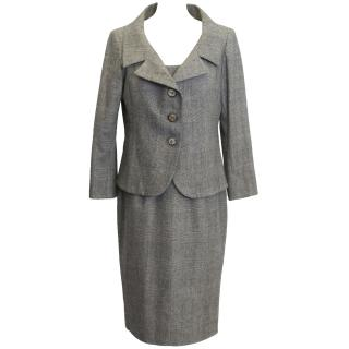 Connolly Grey Wool Check Dress and Jacket
