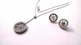 Ian Blower Custom Necklace & Earrings