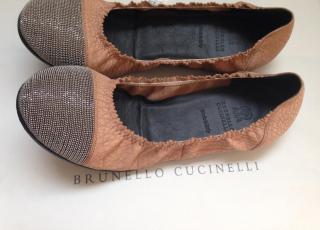 Brunello Cucinelli ballerinas