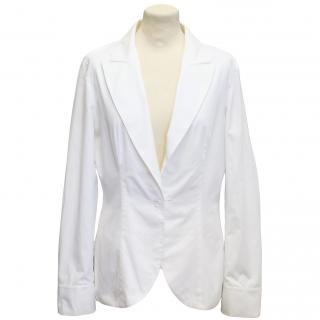 Alexander McQueen White Jacket