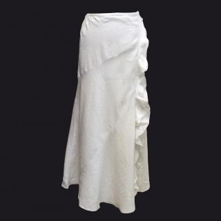 Connolly White Wrap Skirt