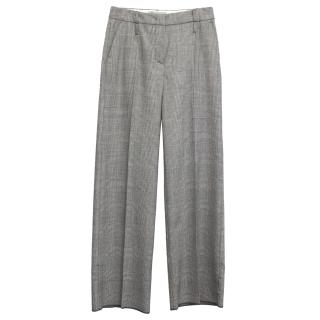 Sportmax Grey Bootcut Trousers