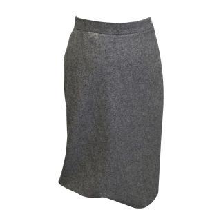 Vivienne Westwood red label grey tweed pencil skirt