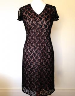 Night by Birger & Mikkelsen - Black Lace Dress