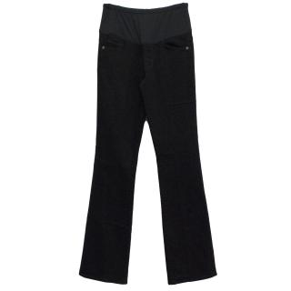 Citizens of Humanity Maternity Black Blossom Jeans