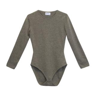 Brora Grey Knit Bodysuit