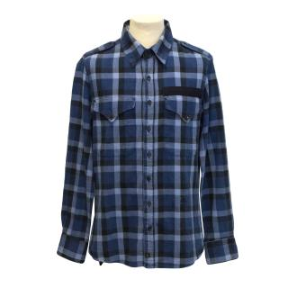 Vivienne Westwood Lee Blue Check Shirt