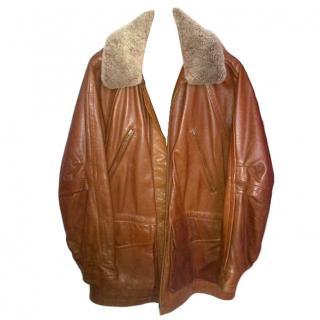Fantastic quality.  Mens Timberland Cowhide Jacket /coat