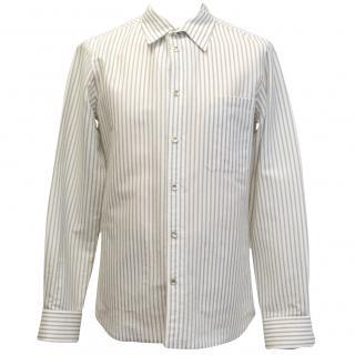 Alexander McQueen Cream Striped Shirt