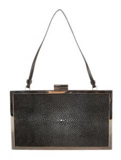Stingray Minaudiere Clutch by Calvin Klein NEW