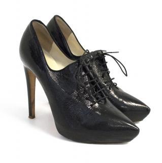 Rupert Sanderson Delta Black Vogue Ankle Boots