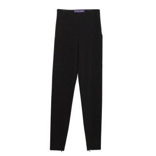 Ralph Lauren Purple Label Black Skinny Trousers