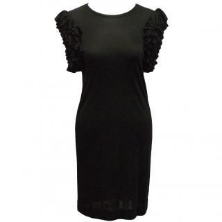 Matthew Williamson Black Ruffle Dress