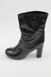 See by Chloe Navy Ankle Boots