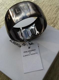 Philosophy di Alberta Ferretti Bangle NEW