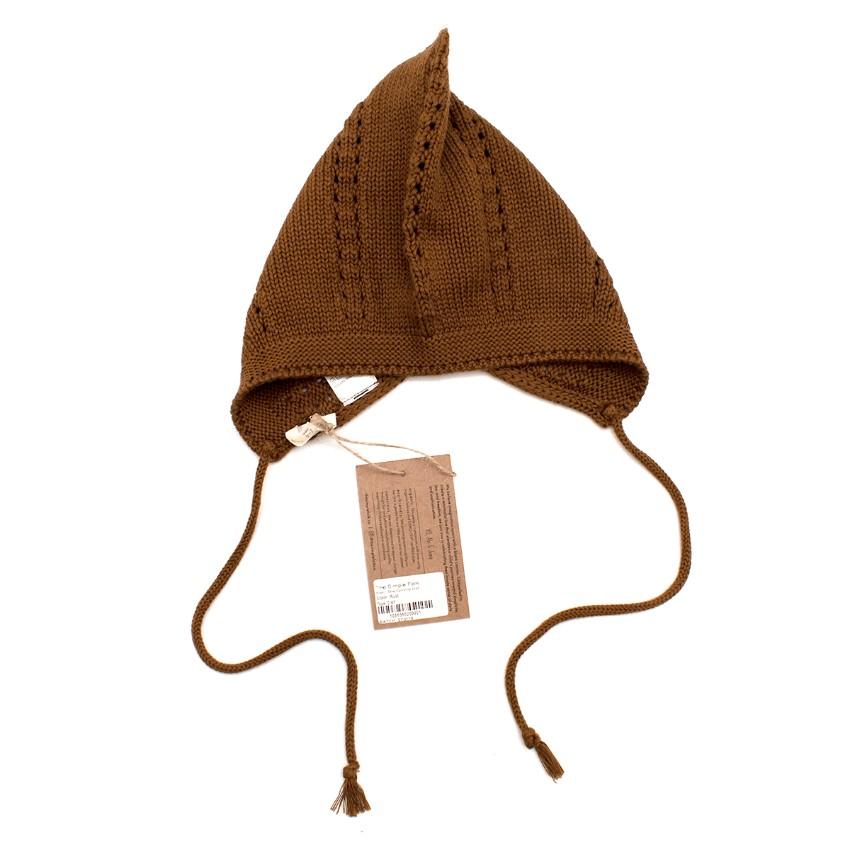 The Simple Folk Organic Knit Gnome Hat 2-4Y
