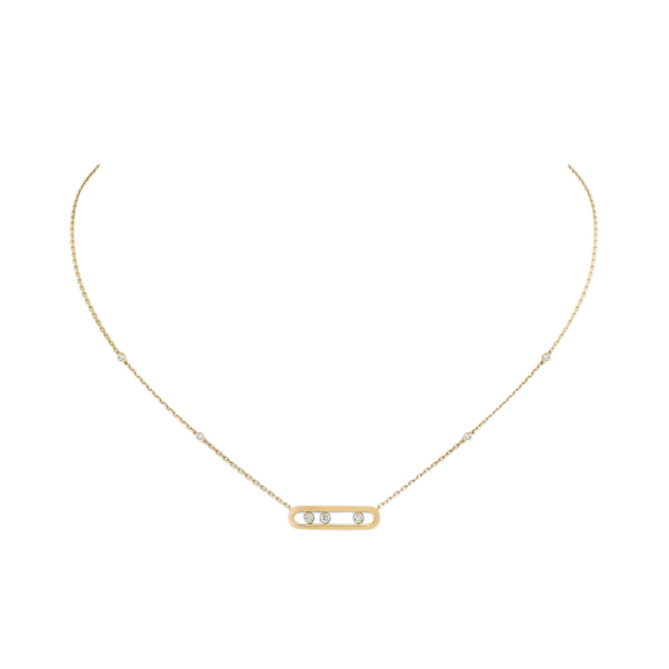 Messika Baby Move 18ct Yellow Gold Diamond Necklace