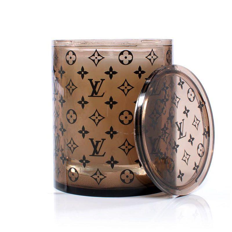 Louis Vuitton VIP Gift Aromatherapy Candle & Monogram Holder