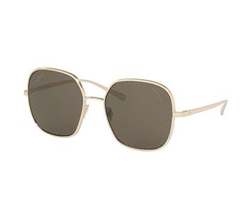 Chanel Black & Gold Square Sunglasses
