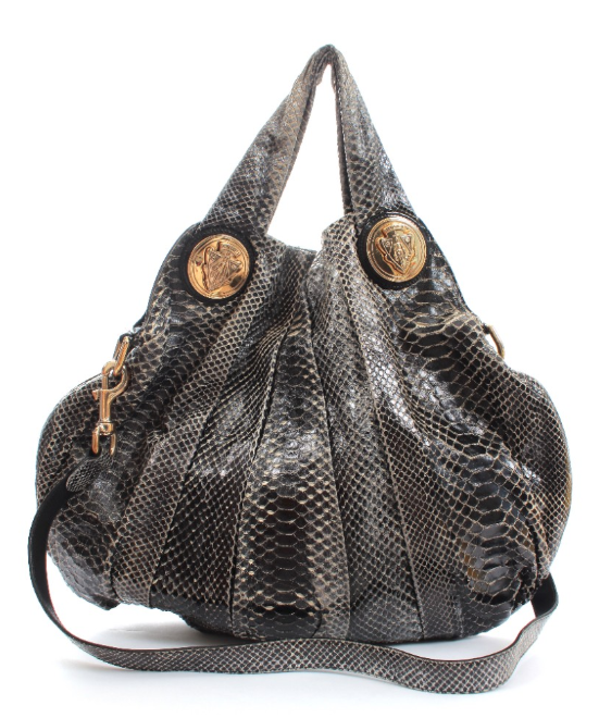 Gucci Python Hysteria Hobo Shoulder Bag