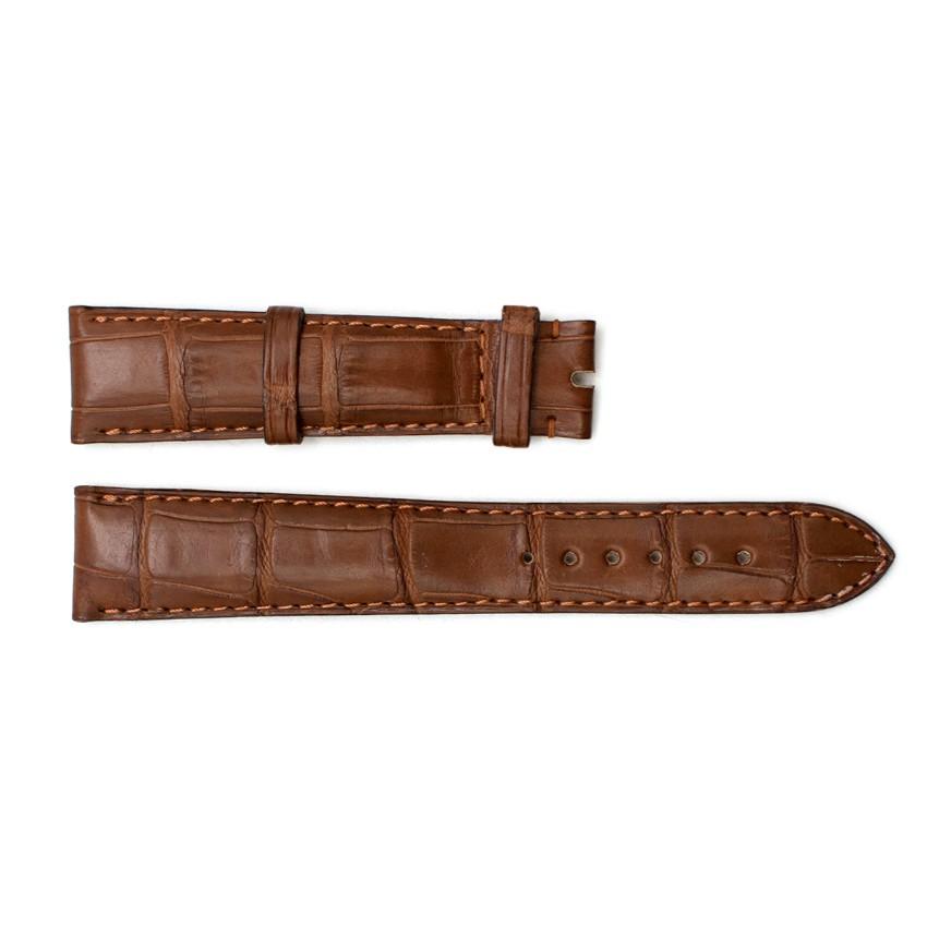 Chopard Brown Alligator Watch Strap