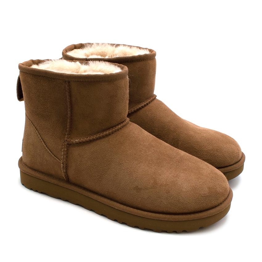 Ugg Chestnut Classic Femme Mini Boot