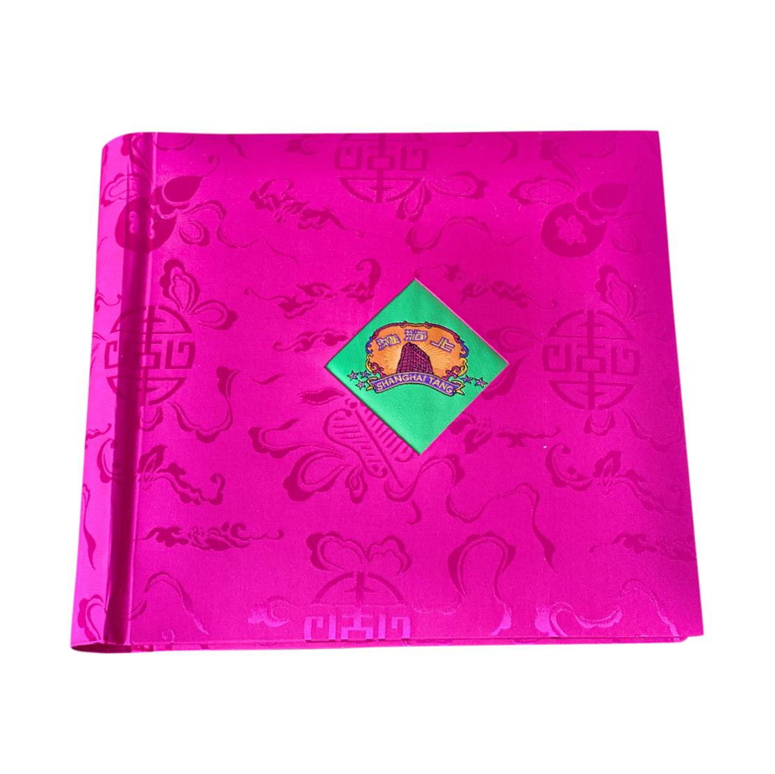 Shanghai Tang Pink Silk Photo Album