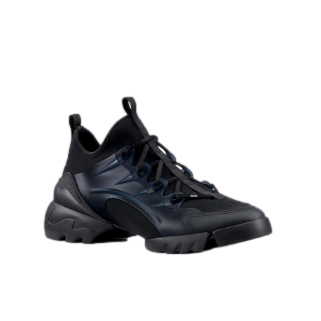 Dior Black D-Connect Sneakers