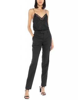 Philosophy di Lorenzo Serafini Black Tailored Lace Detailed Jumpsuit