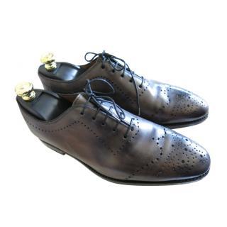 Bontoni Antique Grey Leather Brogues