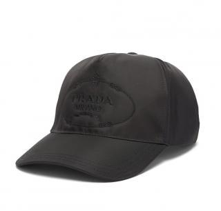 Prada Men's M Logo-embroidered nylon baseball cap