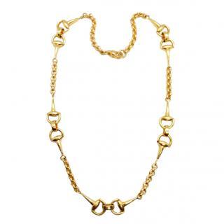 Roberto Coin 18ct Yellow Gold Horsebit Necklace