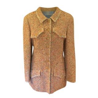 Chanel Multicoloured Wool Blend Tweed Jacket