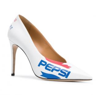 DSquared2 x Pepsi White Limited Edition Pumps