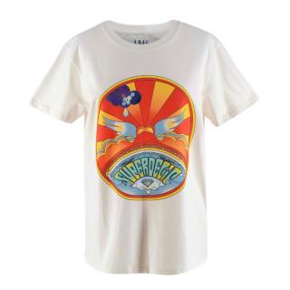 Jessica McCormack Superdelic White Cotton T-shirt