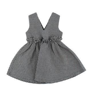 O'ahu Black & White Gingham Dress