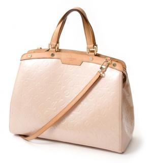 Louis Vuitton Rose Florentine Vernis Brea GM