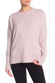 Theory Pink Cashmere Sweatshirt