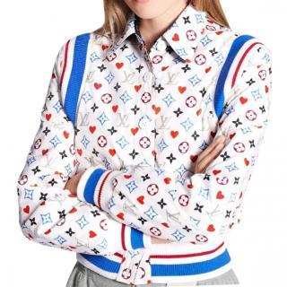 Louis Vuitton Reversible Game On Monogram Bomber Jacket