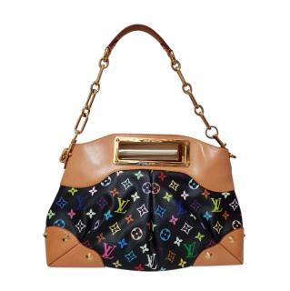 Louis Vuitton Black Multicolore Monogram Shoulder Bag