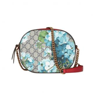 Gucci Blooms GG Supreme Mini Chain Shoulder Bag