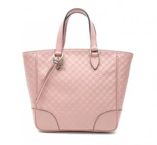 Gucci GG Microguccissima Pink Tote Bag