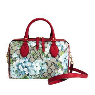 Gucci Blooms Blue Boston Shoulder Bag