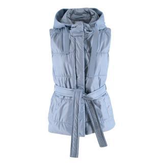 Marella Monochrome Quilted Sleeveless Jacket