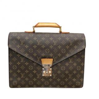 Louis Vuitton Monogram Serviette Conseiller Bag