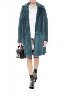 Marc Jacobs Blue Mink Fur Coat
