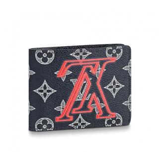 Louis Vuitton Multiple Wallet Monogram Upside Down Canvas