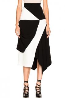 J.W. Anderson Contrast Asymmetric Skirt